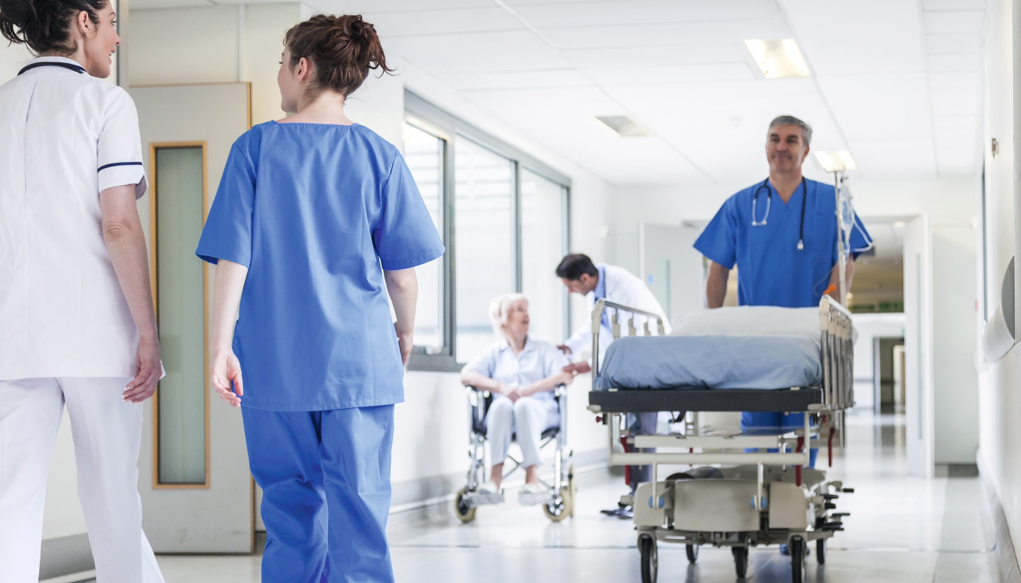 Fire protection and airflow control to help minimize risk in healthcare facilities