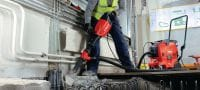 TE 1000-AVR Versatile TE-S demolition hammer for concrete floor breaking and occasional wall chiseling Applications 3