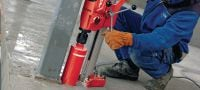 DD 120 Core drill Extremely compact, light and mobile diamond drilling rig for small to medium diameters Applications 1
