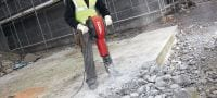 TE 3000-AVR Exceptionally powerful concrete demolition hammer featuring low vibration and a brushless motor Applications 1